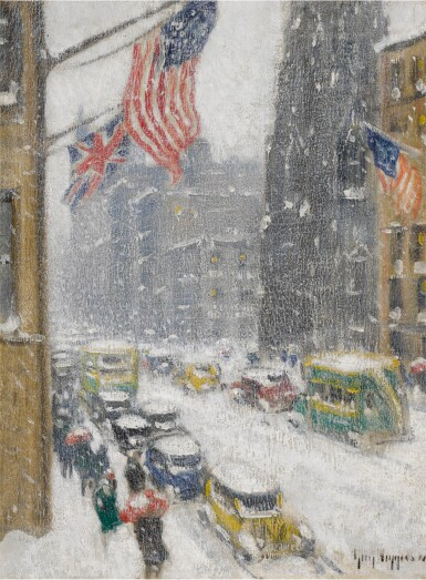 View 1. Thumbnail of Lot 17. Flags Up Fifth Avenue.