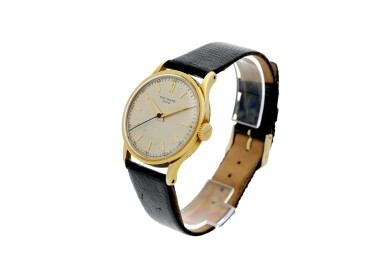 REFERENCE 570 GRAND CALATRAVA A YELLOW GOLD WRISTWATCH, MADE IN 1954