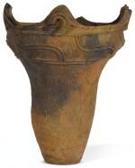 A JOMON VESSEL, JOMON PERIOD, (BC 2000-300)