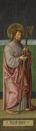 FOLLOWER OF ALBRECHT DÜRER | The outer wings of a triptych depicting Saints Bartholomew and James