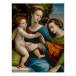 Sold Without Reserve | BATTISTA DI NICCOLÒ DI LUTERI, CALLED BATTISTA DOSSI | THE MYSTIC MARRIAGE OF SAINT CATHERINE OF ALEXANDRIA