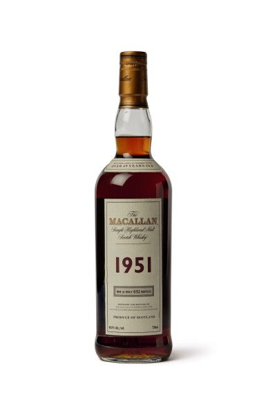 The Macallan, 1951, Over 49 Years Old