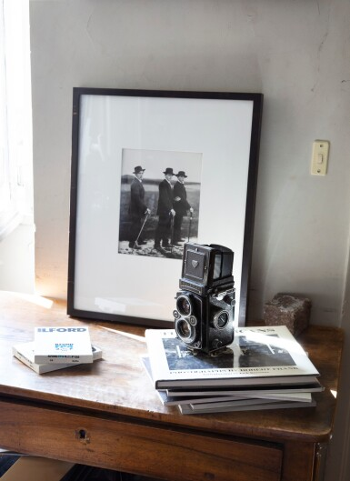 View 5. Thumbnail of Lot 13. Rolleiflex Camera of Paolo Roversi.
