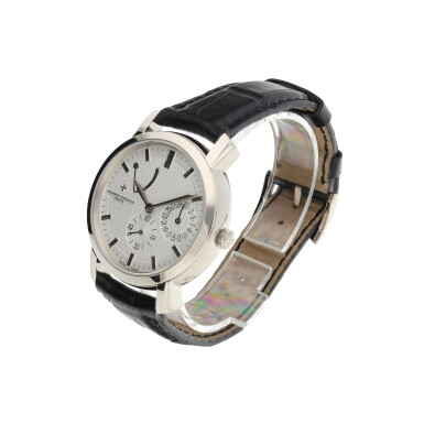 REFERENCE 83060 MALTE A WHITE GOLD WRISTWATCH WITH DATE AND POWER RESERVE INDICATION, CIRCA 2013