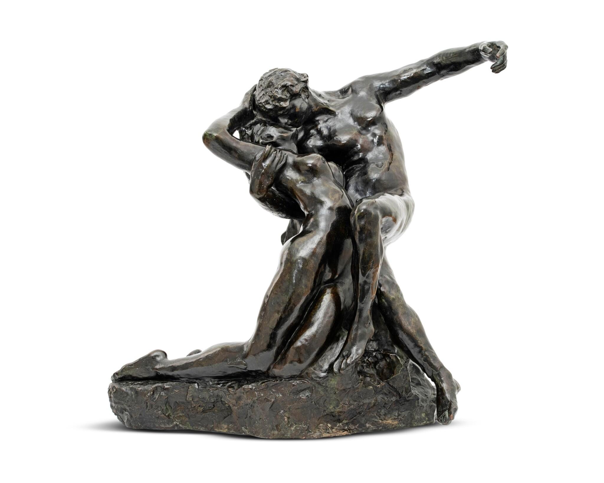 View full screen - View 1 of Lot 1036. Auguste Rodin 奧古斯特・羅丹 | Éternel Printemps, premier état, taille originale - variante type A 永恆之春.