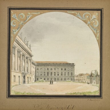 View 1. Thumbnail of Lot 49. Die Universität (The University).