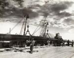Saudi Arabia. Album of photographs of the construction of the Trans-Arabian Pipeline, 1950s