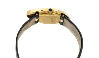 View 4. Thumbnail of Lot 306. Crash  A commissioned piece yellow gold asymmetrical wristwatch, Circa 2007.