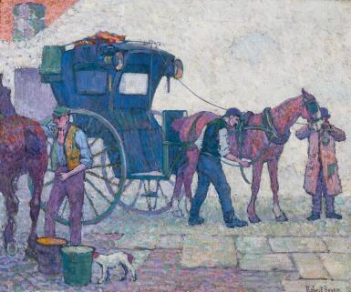 View 1. Thumbnail of Lot 4. ROBERT POLHILL BEVAN | THE HANSOM CAB.