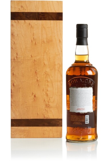 View 2. Thumbnail of Lot 317. BOWMORE WHITE BOURBON CASK 43 YEAR OLD 42.8 ABV 1964   .