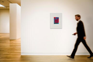 PETER HALLEY | UNTITLED (MAGENTA CELL) (6/22/99.4)