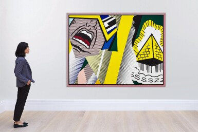 View 5. Thumbnail of Lot 1117. Roy Lichtenstein 羅伊・李奇登斯坦 | Reflections: Mystical Painting 反射系列:神秘的繪畫.