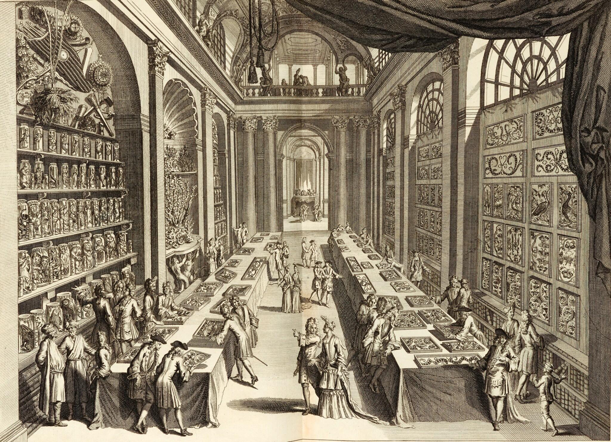 Vincent   Wondertooneel der Nature, 1706-1715