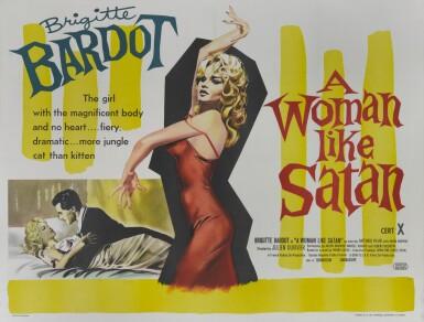 LA FEMME ET LA PANTIN/A WOMAN LIKE SATAN (1963) POSTER, BRITISH