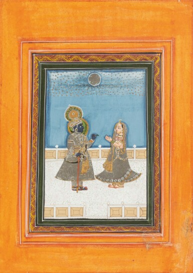 View 9. Thumbnail of Lot 37. RAJASTHAN, LATE 18TH CENTURY AND 19TH CENTURY | SIX INDIAN MINIATURES.