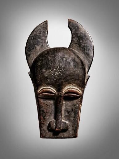 View 1. Thumbnail of Lot 62. Baule Mask, Côte d'Ivoire.