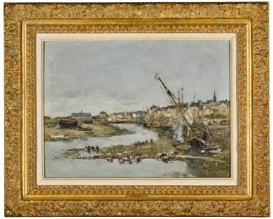View 2. Thumbnail of Lot 31. Trouville. Le port.