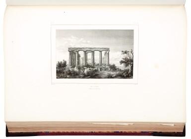 View 3. Thumbnail of Lot 160. Blouet | Expédition scientifique de Morée, 1831-1838, 3 volumes.