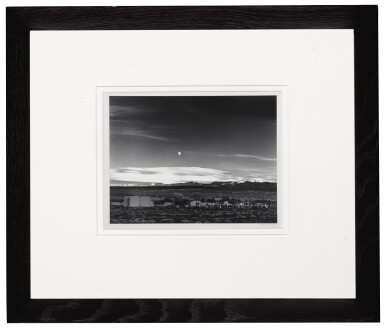 'Moonrise, Hernandez, New Mexico'