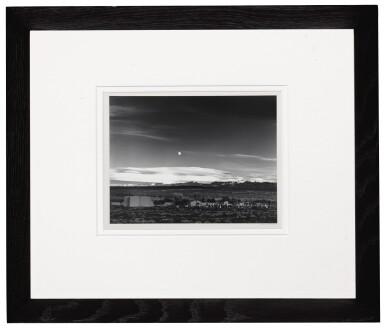 View 2. Thumbnail of Lot 29. 'Moonrise, Hernandez, New Mexico'.