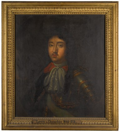 MANNER OF PIERRE MIGNARD | Portrait of man, traditionally identified as Louis, the Grand Dauphin of France (1661-1711), bust length