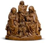 NETHERLANDISH, UTRECHT, CIRCA 1500 | ANNA SELBDRITT SURROUNDED BY ANGELS
