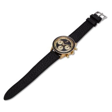 View 6. Thumbnail of Lot 220. Reference 6241 Daytona Paul Newman 'John Player Special'  A yellow gold chronograph wristwatch, Circa 1968.