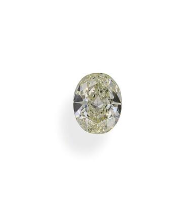 A 1.18 Carat Oval-Shaped Diamond, W-X Color, Internally Flawless