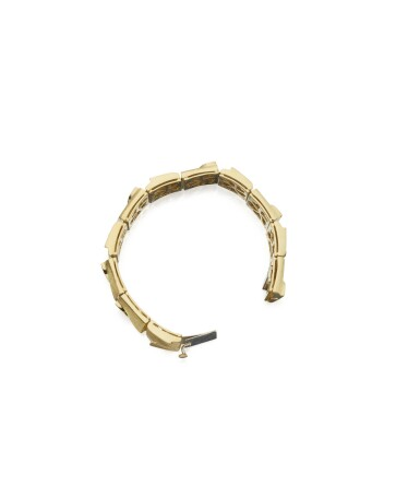 View 2. Thumbnail of Lot 93. GOLD BRACELET, HENRY DUNAY.