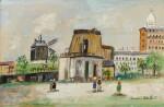 Tour du Philosophe et Moulin de la Galette, Montmartre