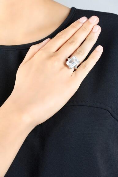 View 5. Thumbnail of Lot 193. ATTRACTIVE DIAMOND RING [鑽石戒指].