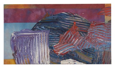SAM GILLIAM | UNTITLED (PROPOSED PROJECT FOR NOW-CLOSED NORTH GENERAL HOSPITAL, HARLEM, NY)