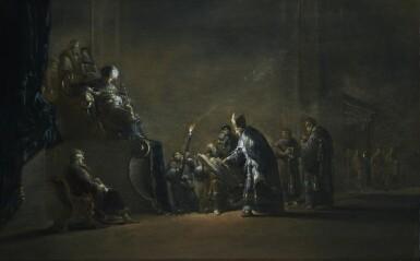 LEONARD BRAMER | KING HEROD ASKING THE SCRIBES WHERE JESUS WILL BE BORN
