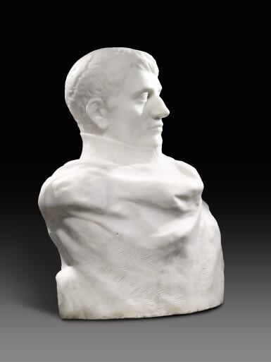 View 9. Thumbnail of Lot 1016. Auguste Rodin 奧古斯特・羅丹 | Napoléon Enveloppé dans Son Réve 逐夢的拿破崙.
