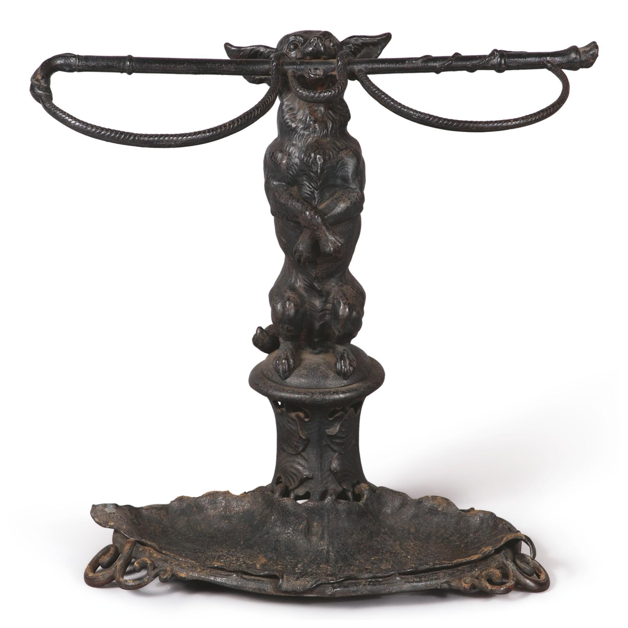 A CAST IRON COALBROOKDALE STICK OR UMBRELLA STAND, LATE 19TH CENTURY