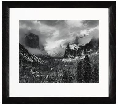 View 2. Thumbnail of Lot 9. Clearing Winter Storm, Yosemite National Park, California.