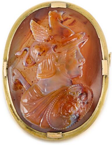 ITALIAN, 17TH CENTURY | CAMEO WITH PERSEUS