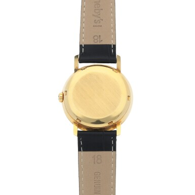 View 4. Thumbnail of Lot 86. Ref. 3440 Yellow gold wristwatch Made in 1961   百達翡麗 3440型號黃金腕錶,1961年製.