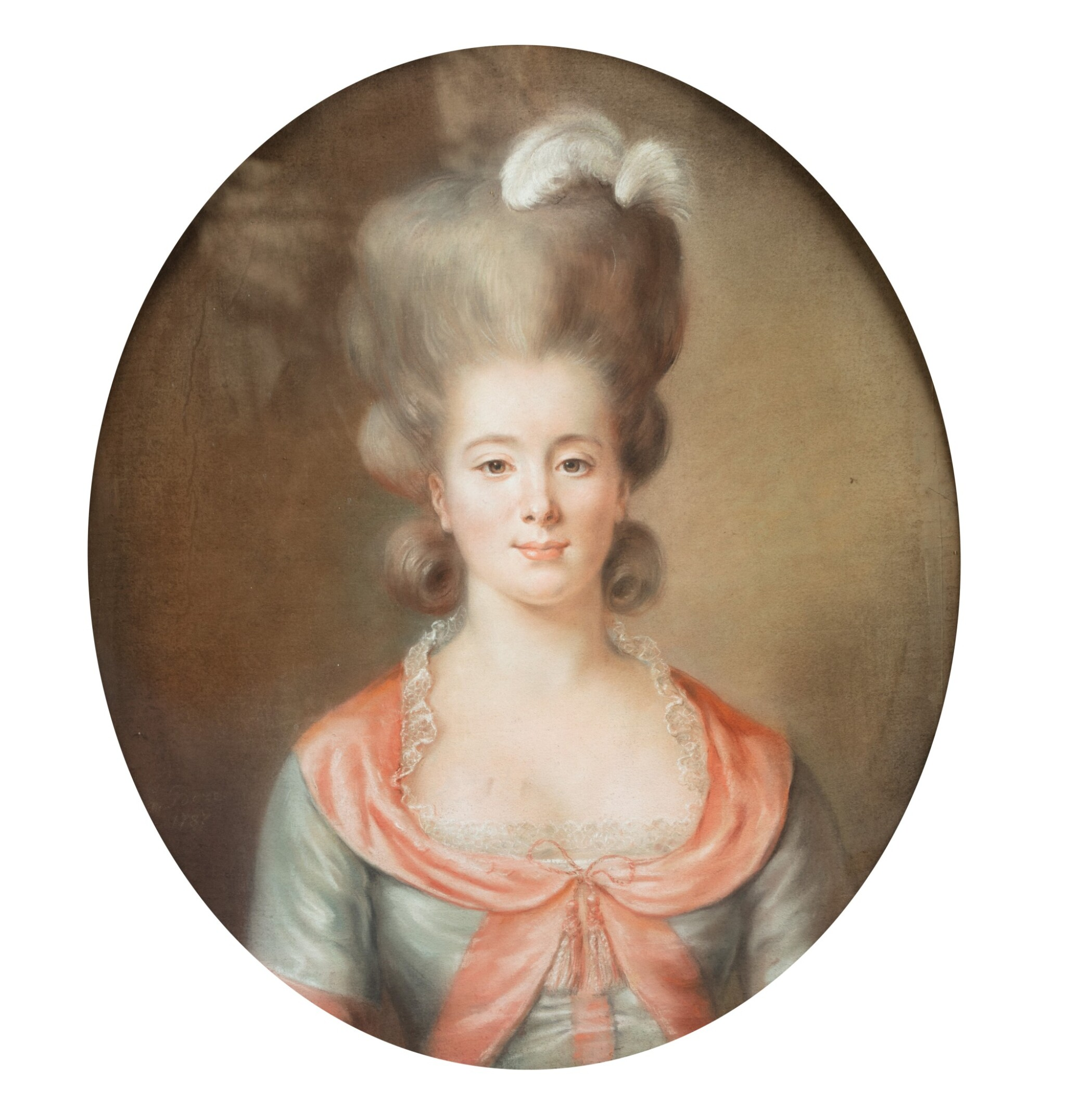 View full screen - View 1 of Lot 187. Portrait of a Lady.