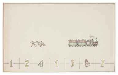 View 1. Thumbnail of Lot 27.  ILYA KABAKOV | FROM THE ALBUM MATHEMATICAL GORSKY.