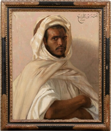 View 2. Thumbnail of Lot 28. Portrait of a North African.