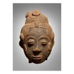AKAN-TWIFO MEMORIAL HEAD, TWIFO-HEMANG TRADITIONAL AREA, GHANA