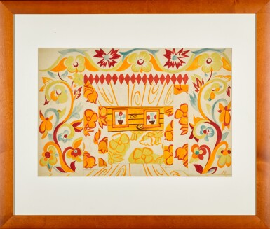 View 2. Thumbnail of Lot 67. Set Design for Coq d'Or.