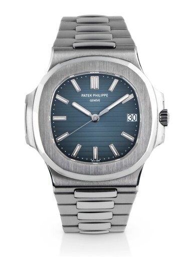 View 1. Thumbnail of Lot 7. PATEK PHILIPPE | 'GENEVA SEAL' NAUTILUS, REF 5711/1 STAINLESS STEEL WRISTWATCH WITH DATE AND BRACELET CIRCA 2007.