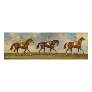 """SIR ALFRED JAMES MUNNINGS, P.R.A., R.W.S. 