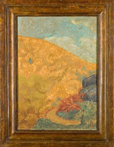 View 4. Thumbnail of Lot 38. Paysage d'automne à Châteauneuf.