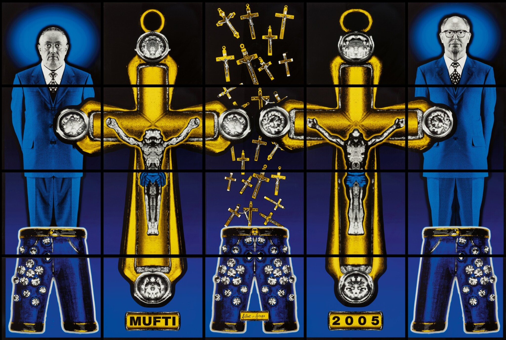 View full screen - View 1 of Lot 287. GILBERT & GEORGE   MUFTI.