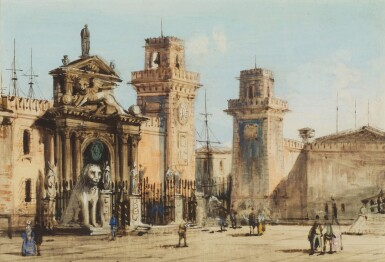 CARLO GRUBACS | View of the Arsenale, Venice