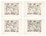 PABLO PICASSO | FOUR WORKS: HISTOIRE DE SABARTÉS ET DE SA VOISINE: LES BANDERILLES (BA. 968)