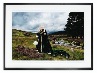 View 3. Thumbnail of Lot 82. Her Majesty The Queen, (The Queen of Scots and Chief of the Chiefs), 2010.